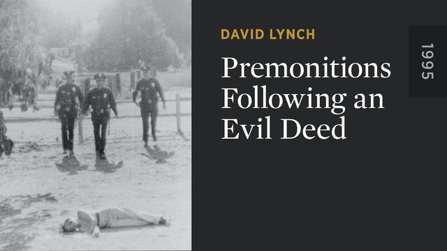 Premonitions Following an Evil Deed