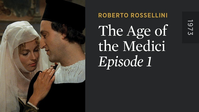 THE AGE OF THE MEDICI: Episode 1