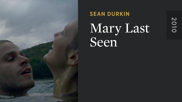 Mary Last Seen