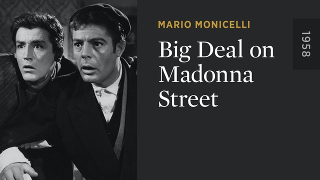 Big Deal on Madonna Street