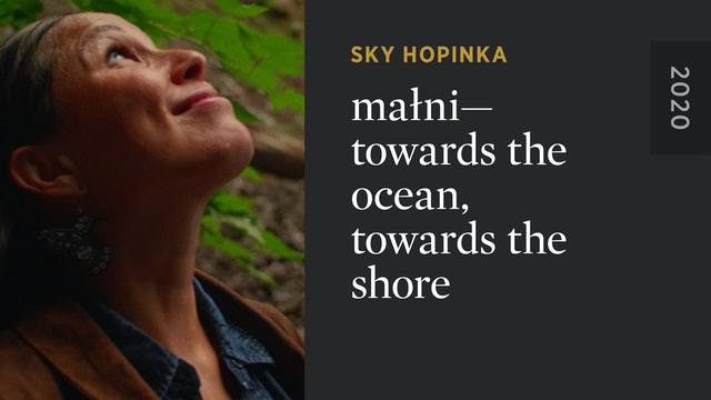 maɬni—towards the ocean, towards the shore