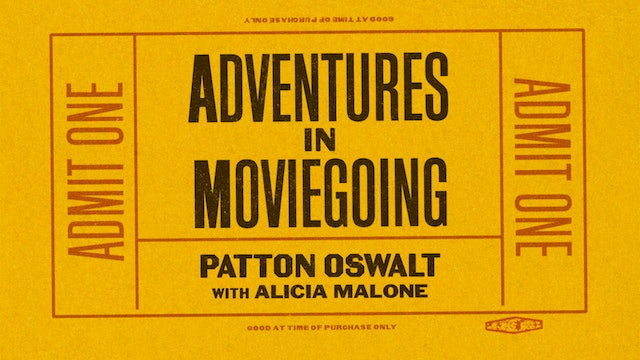Patton Oswalt in Conversation