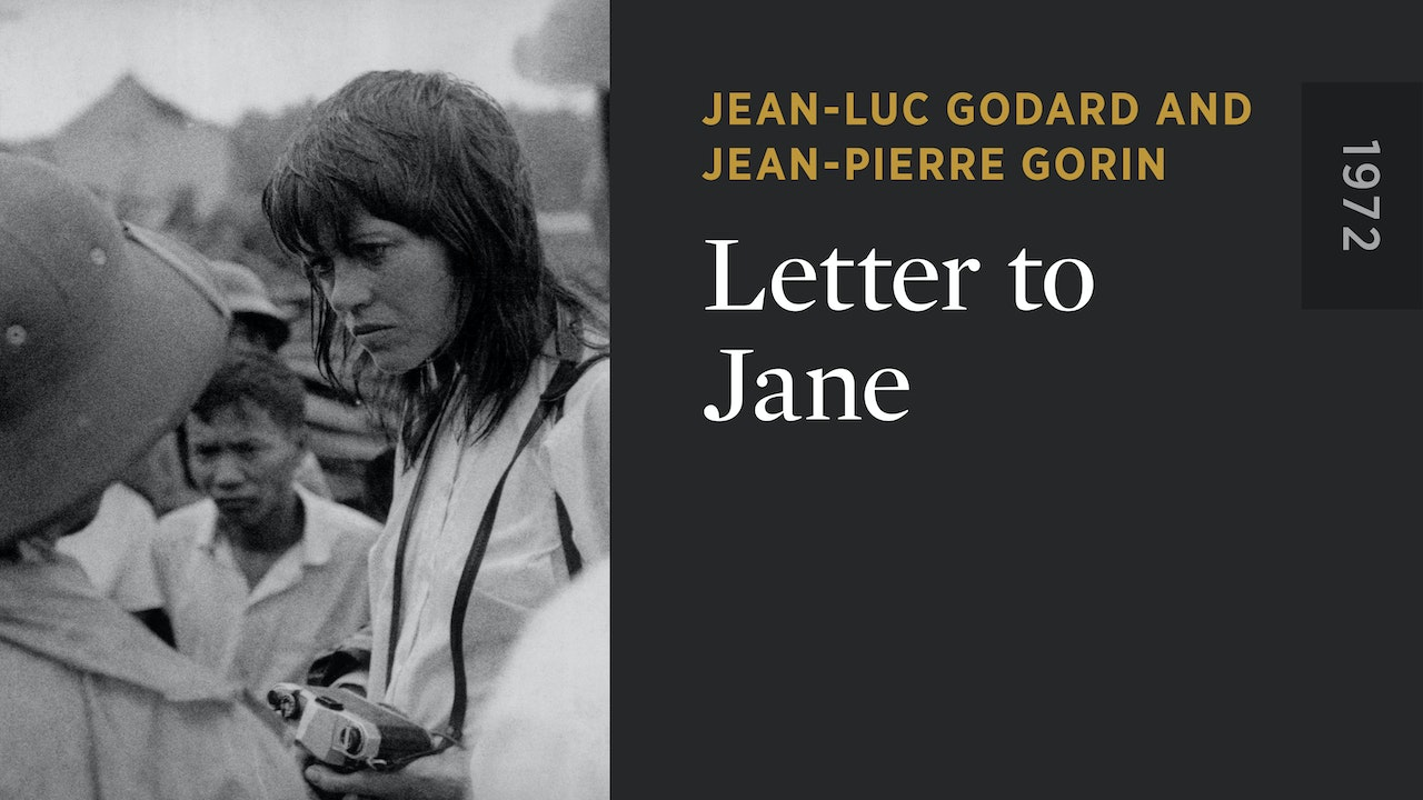 Letter to Jane