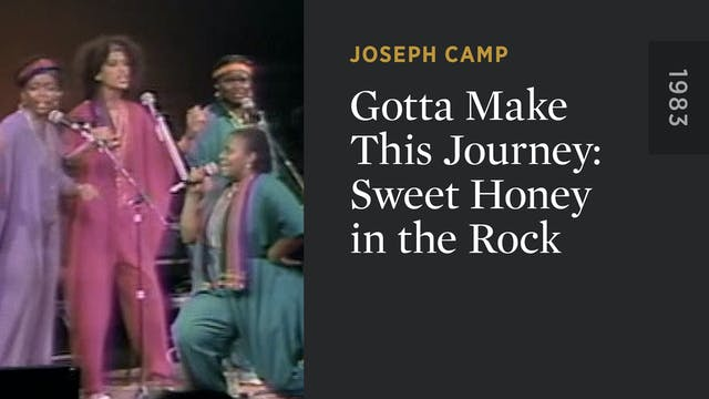 Gotta Make This Journey: Sweet Honey ...