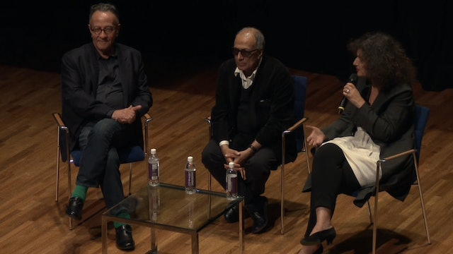 Abbas Kiarostami and Peter Scarlet on THE KOKER TRILOGY