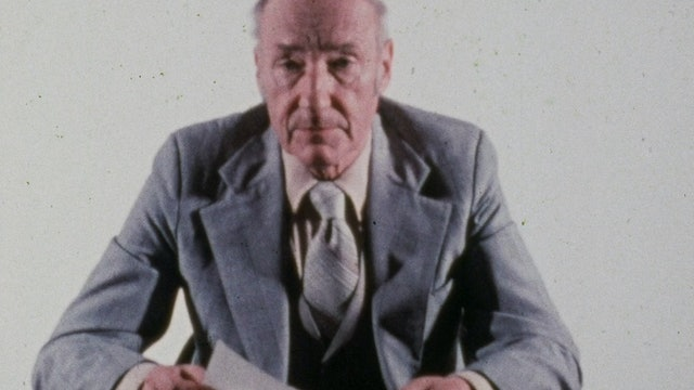 Robert E. Fulton III Edit of BURROUGHS: THE MOVIE
