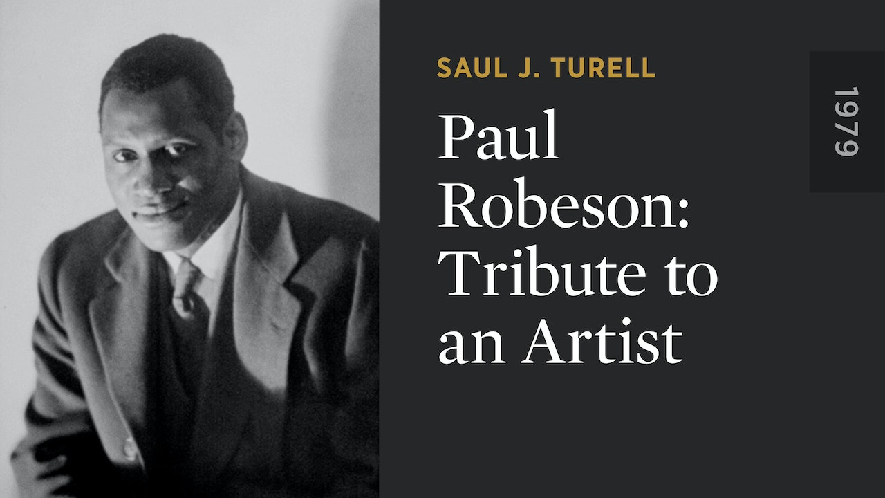 Paul Robeson: Tribute to an Artist