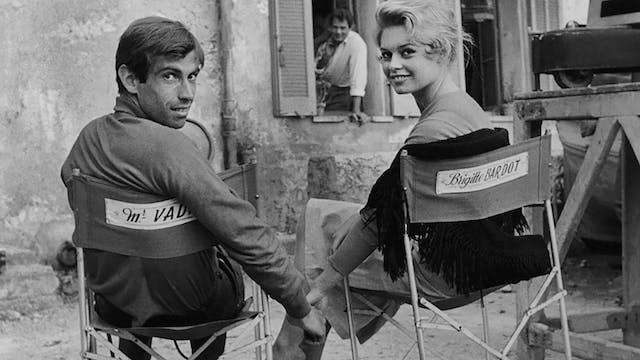 Roger Vadim & Brigitte Bardot