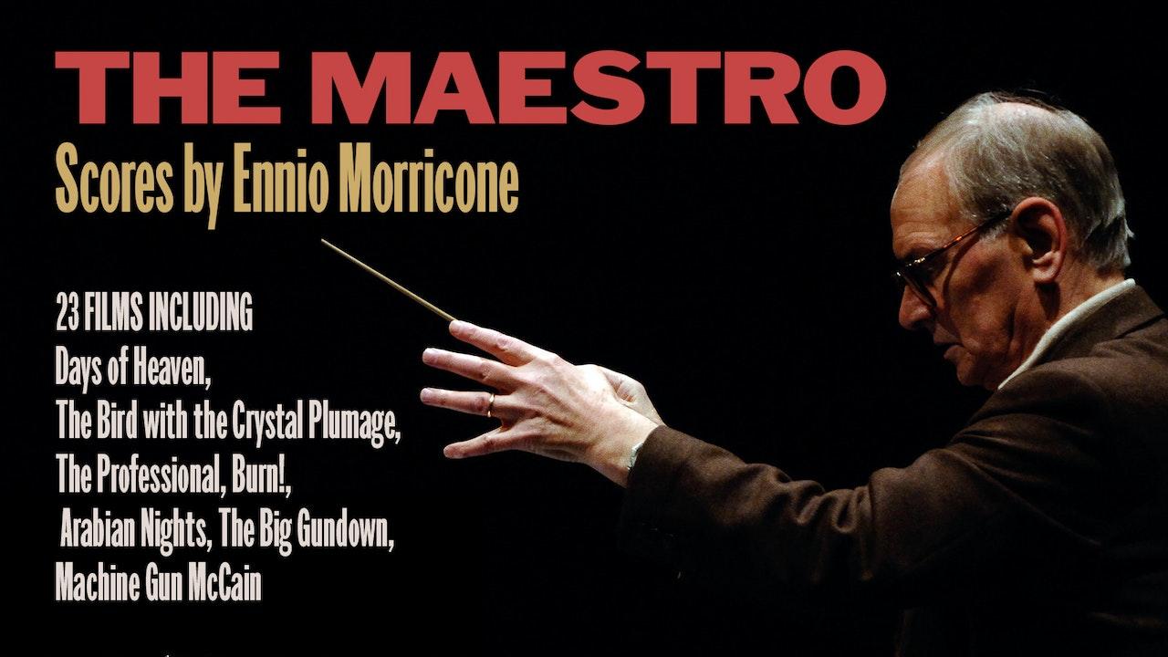 Scores by Ennio Morricone