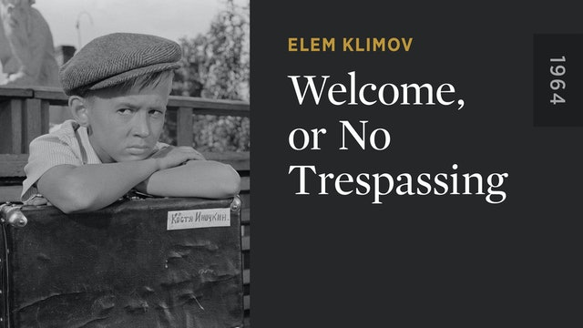 Welcome, or No Trespassing