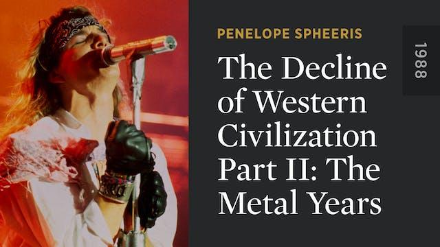 The Decline of Western Civilization P...