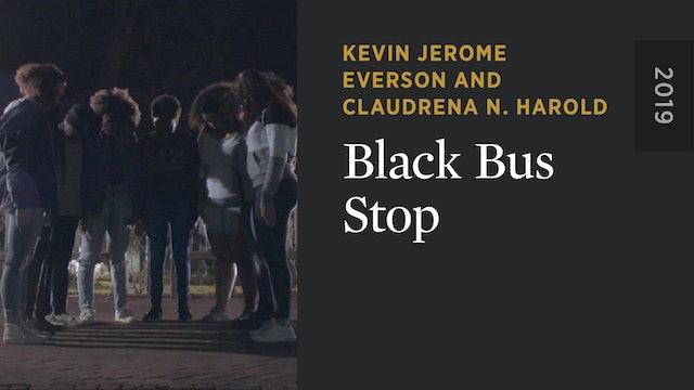 Black Bus Stop