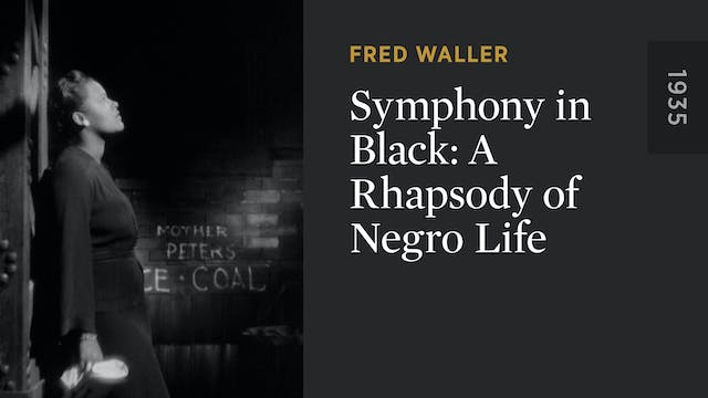 Symphony in Black: A Rhapsody of Negr...