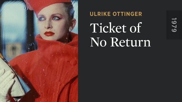 Ticket of No Return