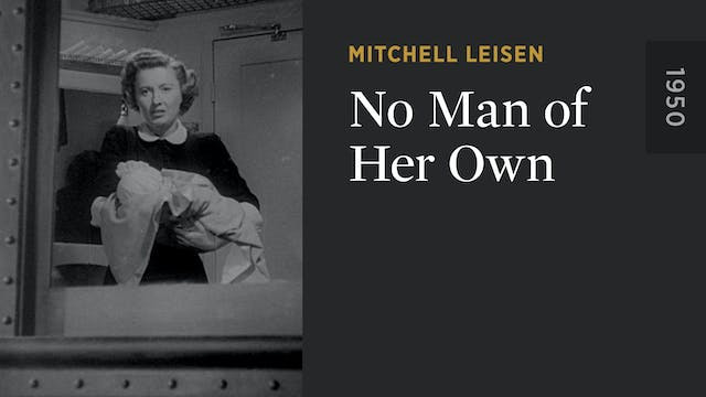 No Man of Her Own