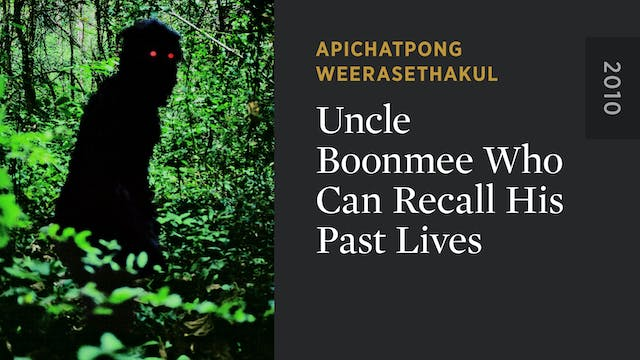 Uncle Boonmee Who Can Recall His Past...