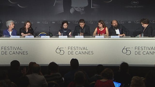 Cannes Press Conference for BEYOND TH...
