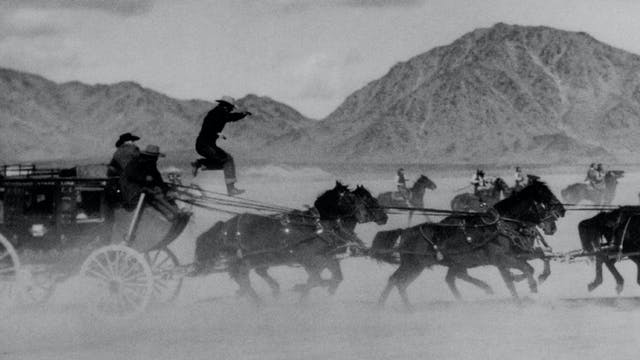 Yakima Canutt on STAGECOACH