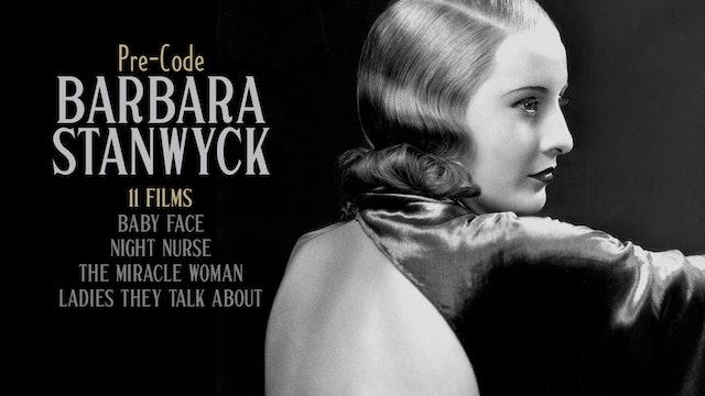 Pre-Code Barbara Stanwyck