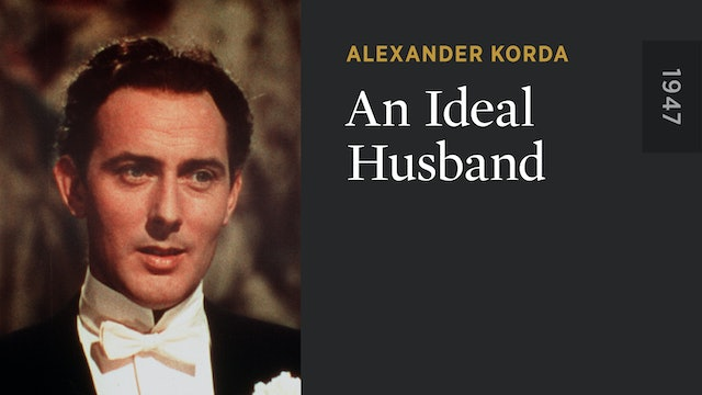An Ideal Husband The Criterion Channel