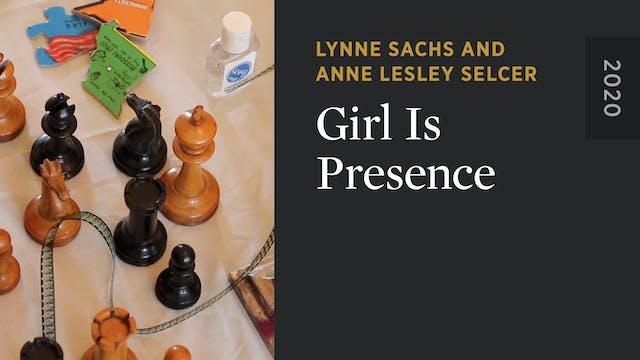 Girl Is Presence