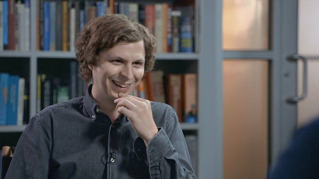 Michael Cera on WHERE IS THE FRIEND'S...
