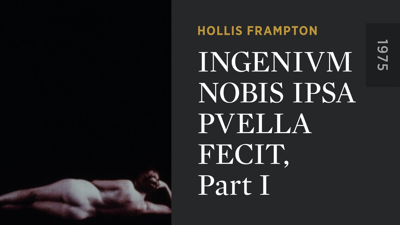 INGENIVM NOBIS IPSA PVELLA FECIT, Part I