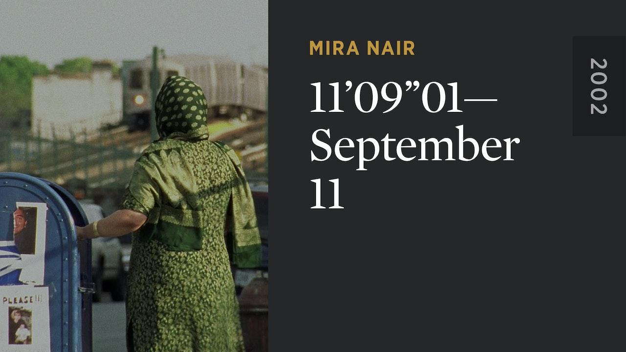 """11'09""""01—September 11"""