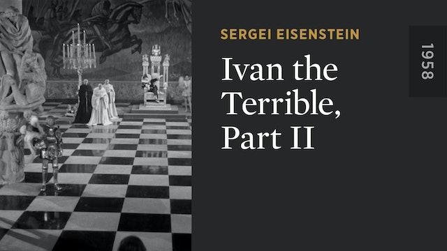 Ivan the Terrible, Part II