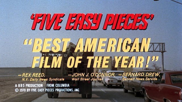 FIVE EASY PIECES Teaser 2