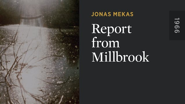 Report from Millbrook