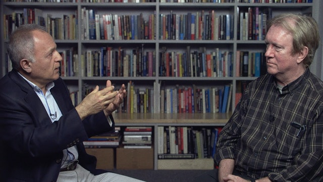 Godfrey Chesire and Jamsheed Akrami on 24 FRAMES