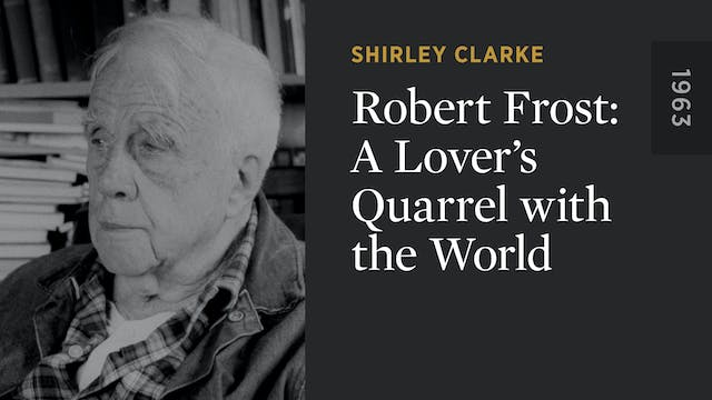 Robert Frost: A Lover's Quarrel with ...