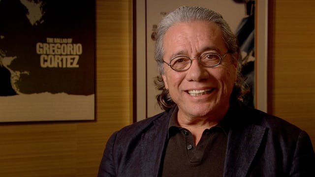 Edward James Olmos on ¡ALAMBRISTA!
