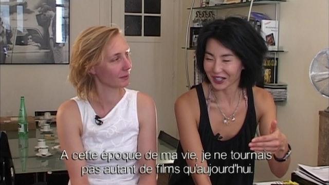 Maggie Cheung and Nathalie Richard on IRMA VEP
