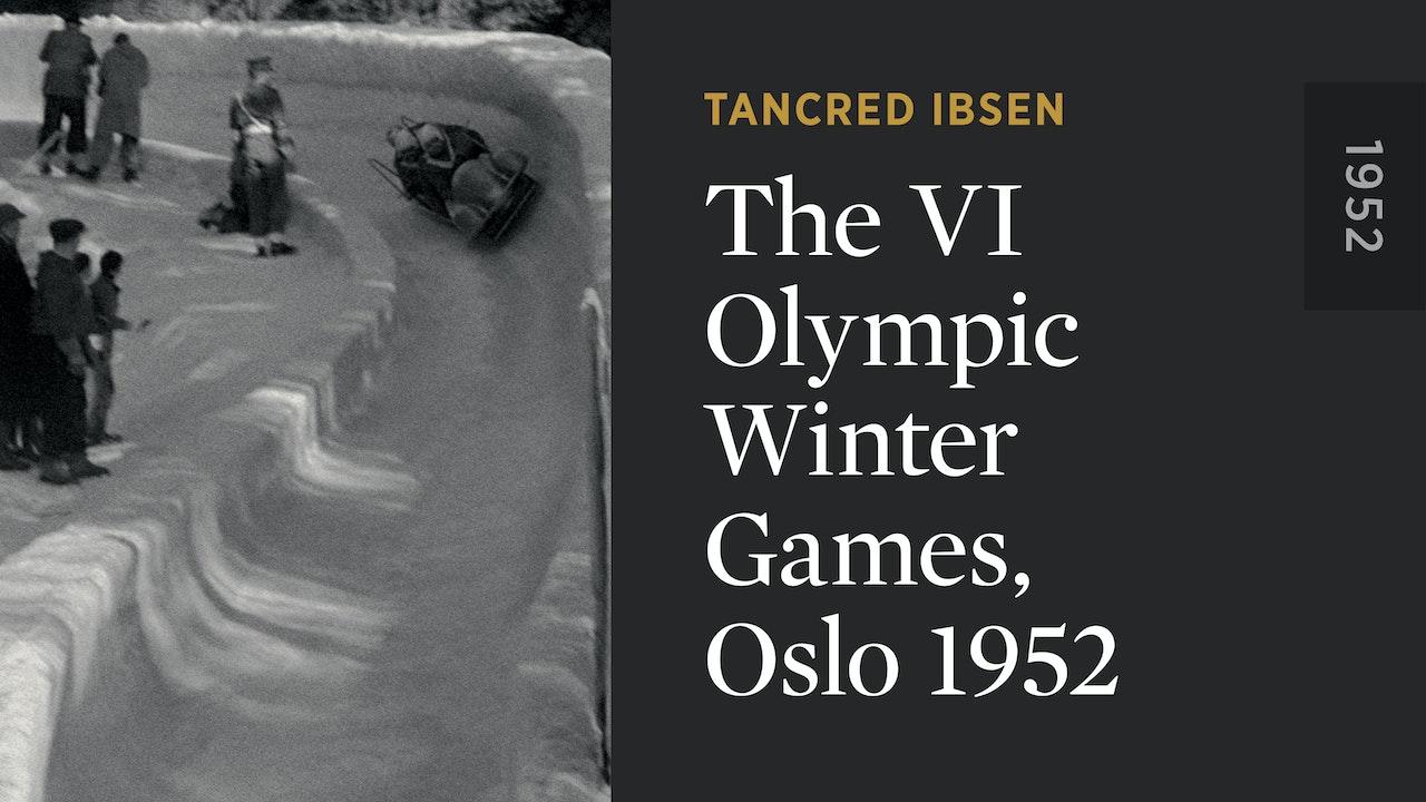 The VI Olympic Winter Games, Oslo 1952