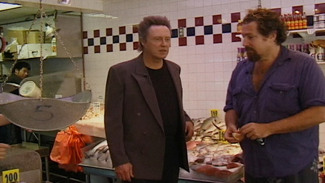 Split Screen: Christopher Walken Cooks