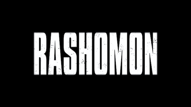 RASHOMON U.S. Trailer