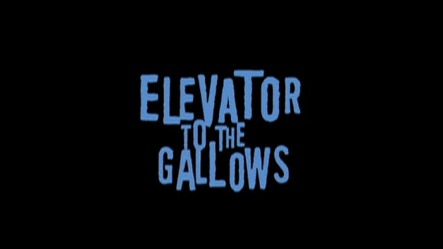 ELEVATOR TO THE GALLOWS 2005 Rereleas...