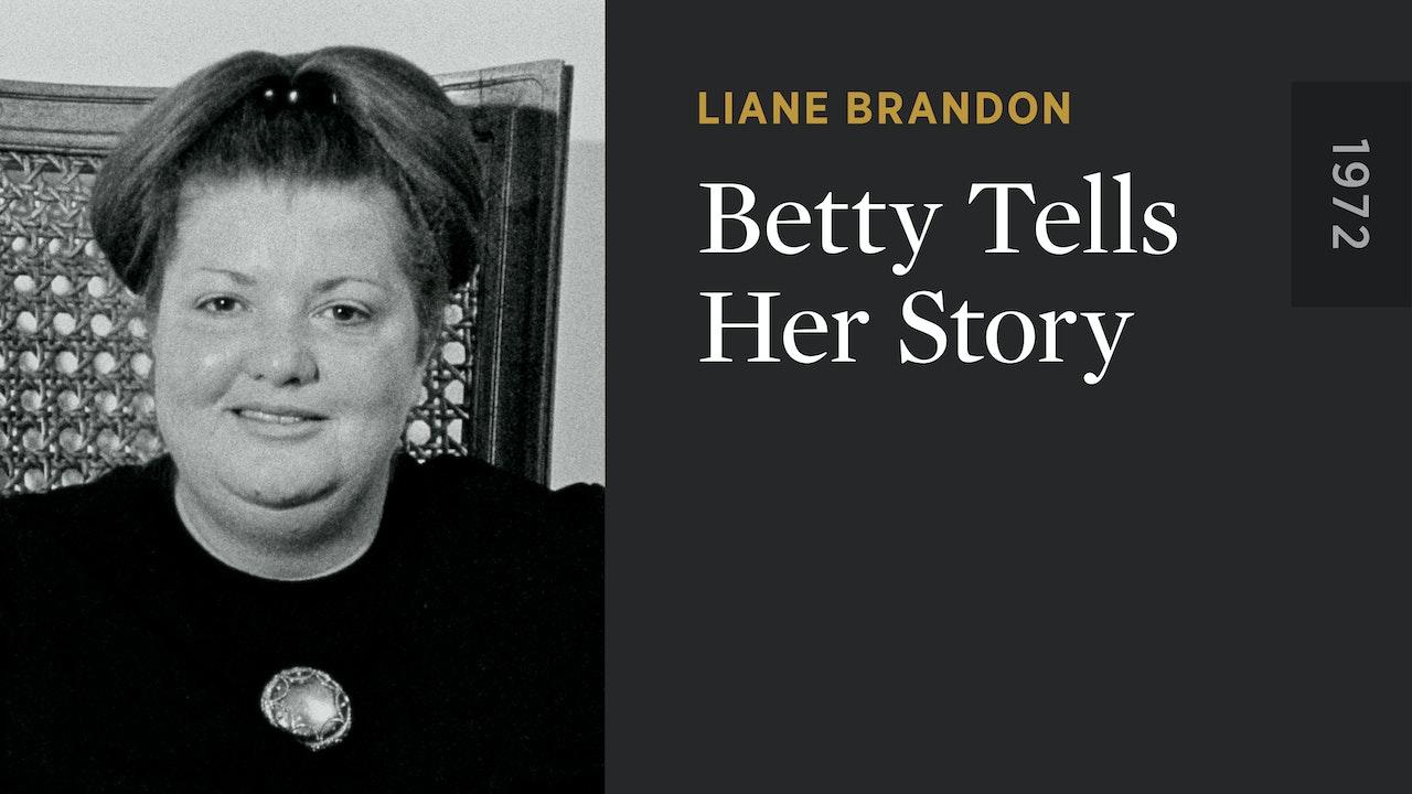 Betty Tells Her Story