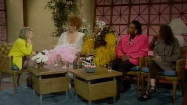 "PARIS IS BURNING on ""The Joan Rivers Show"""