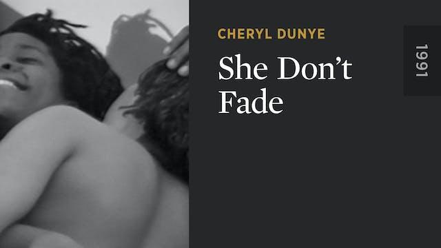 She Don't Fade