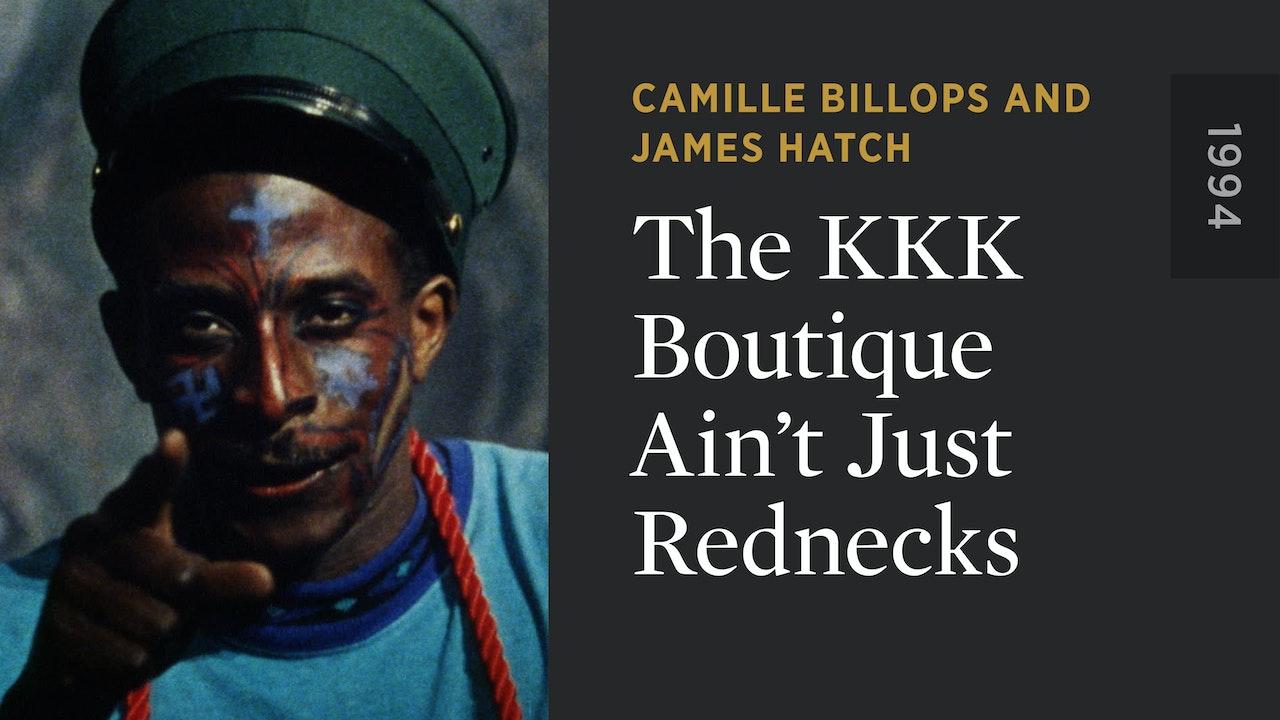 The KKK Boutique Ain't Just Rednecks