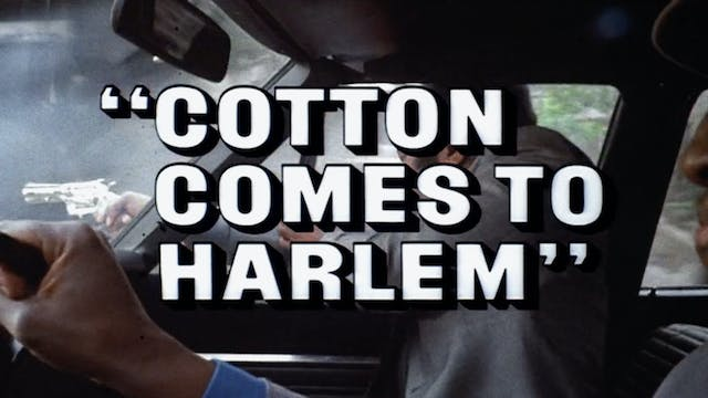 COTTON COMES TO HARLEM Trailer