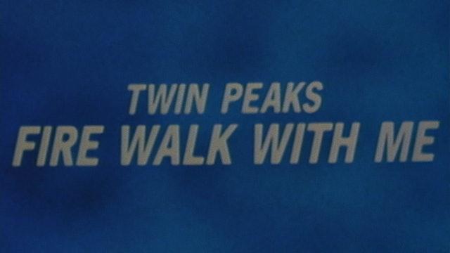 TWIN PEAKS: FIRE WALK WITH ME International Trailer