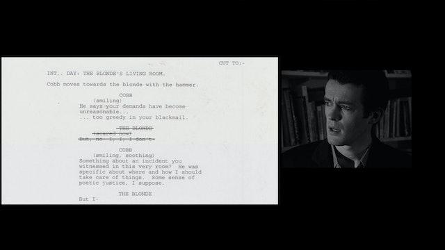 FOLLOWING Script to Film: Finale
