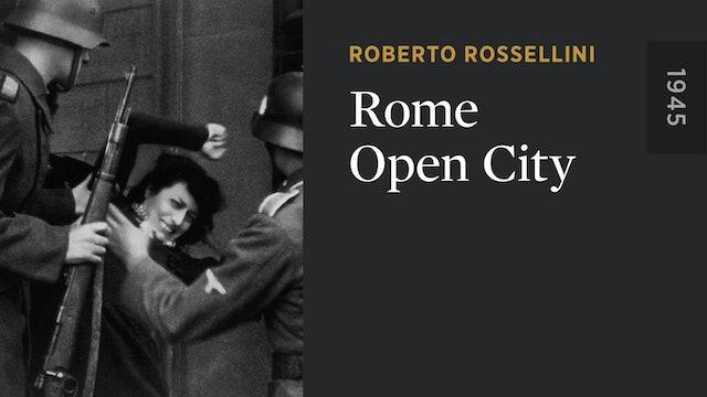 Rome Open City