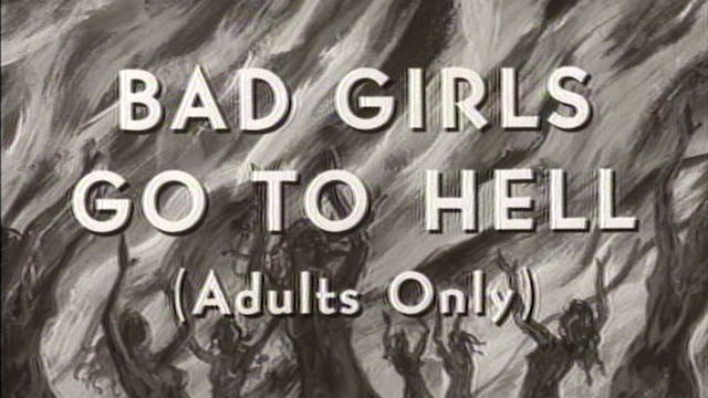 BAD GIRLS GO TO HELL Trailer