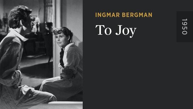 To Joy