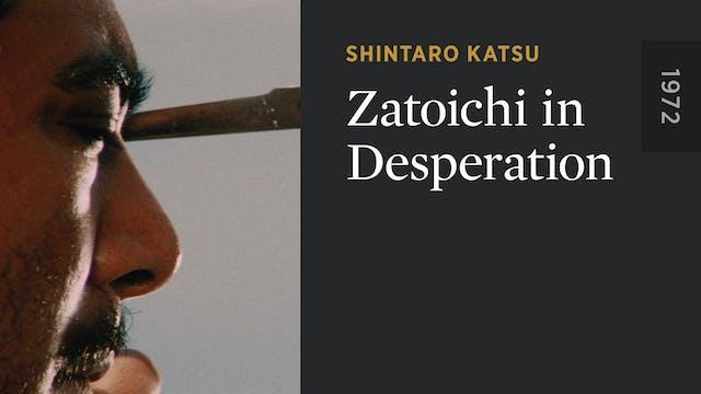 Zatoichi in Desperation